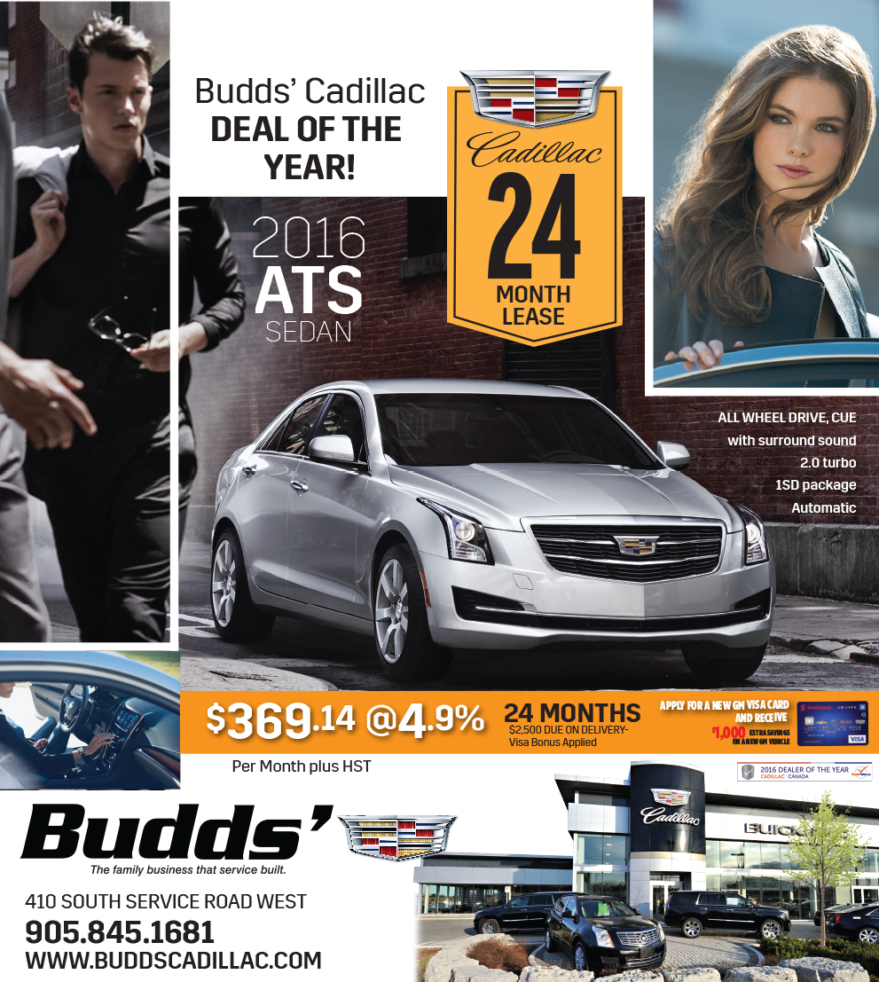 Budds Cadillac Deal of the Year!